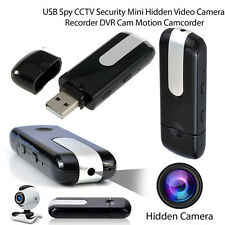 HD USB Disk MOTION ACTIVATED SPY CAMERA U8 DVR Motion Detection Video Recorder