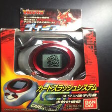Rare Bandai 2001 Digimon Digivice Season 3 D Ark 1.0 Metallic Red Guilmon Nice