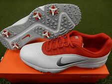 New In Box! Nike Air Rival 4 Golf Shoes - White Red - Size 13 Medium 818728 100