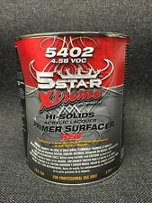 5 STAR XTREME HI-SOLIDS ACRYLIC LACQUER PRIMER SURFACER RED(GALLON) 5402