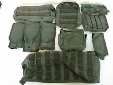 Pre-MSA Paraclete 12 piece variety package deal combo smoke green NEVER ISSUED!!