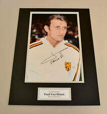 Paul Van Himst Signed Photo 16x12 Display Belgium Memorabilia Autograph + COA