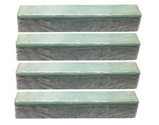 QTY 4 Green Rouge Polishing Compound Buffing Large 8 Pound Bricks USA Made