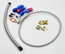 Turbo Oil Feed Line & Return Drain Kit T3 T3/T4 T04E Turbocharger
