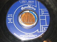 THE TOYS~LOVER'S CONCERTO~ORIGINAL US DYNOVOICE 209 Ex 45~TWISTED WHEEL