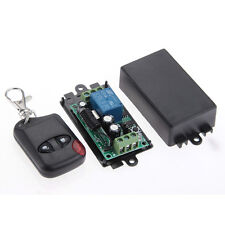 1CH Channel Wireless Remote Control Switch + Receiver Module 315MHZ DC 12V