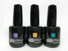 Jessica GELeration Soak Off Nail Gel Polish 0.5oz/15ml- Set of 3 Colors