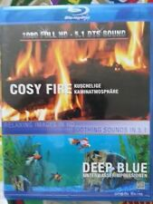 Cosy Fire - Deep Blue (Blu-ray, 2010, Region 2 - VERY RARE)