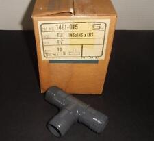"""Spears 1401-015 Box of 10ea 1 1/2"""" Tee INSxINSxINS PVC Fittings NOS"""