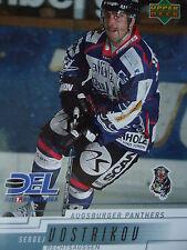16 Sergej Vostrikov Augsburger Panther DEL 2000-01