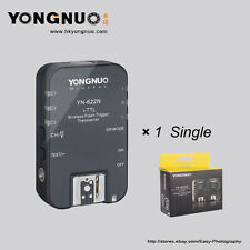 Yongnuo Single YN-622N  Wireless TTL HSS 1/8000S Flash Trigger for Nikon Cameras