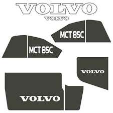 Volvo MCT85C Decals Stickers Repro Decal Kit for Compact Track Skid Loader