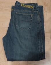Vintage Men's ELEMENT Jeans Skateboard  33x30 Loose Fit