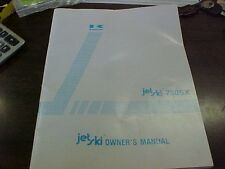 Kawasaki JS 750 A2 Owner's Manual