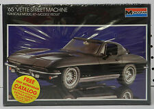1965 65 CORVETTE VETTE STREET MACHINE CHEVY COUPE NOS SEALED MONOGRAM MODEL KIT