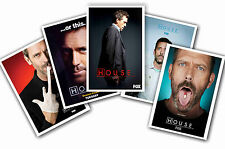 HOUSE MD - SET OF 5 - A4 POSTER PRINTS # 1