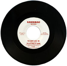 "EPITOME OF SOUND  ""YOU DON'T LOVE ME""   MONSTER NORTHERN SOUL CLASSIC    LISTEN!"