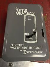 Intermatic WH40 Electric Water Heater Timer Grey 208-277V 10,000 Watts