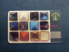NEW Starbucks Mini Card 2010 Japan Fragment Jewels #6060 Extremely Rare