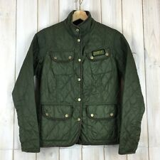 Barbour Vintage International Quilt Quilted Women's Ladies Jacket Coat UK 10