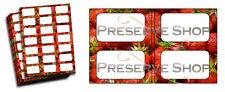 Bote De Mermelada Etiquetas para Conserva & Recipientes De Almacenamiento Fresa