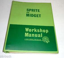 Workshop Manual Werkstatthandbuch Austin Healey Sprite Mk II + MG Midget ab 1961