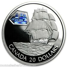 2001 Canada $20 Dollars Sterling Silver - The Marco Polo - D509
