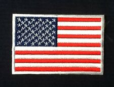 AMERICA AMERICAN STARS AND STRIPES US USA COUNTRY FLAG BADGE IRON SEW ON PATCH