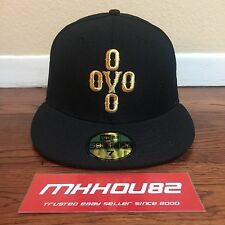 New Era October's Very Own OVO Pom Pom Logo Fitted Cap Hat 59/50 Size 7 By Drake