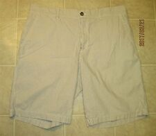 Men's IZOD Tan Check SHORTS Size 36