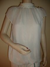 NWT Bebe hem beaded blouse size s