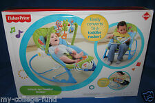 Fisher Price Infant To Toddler Elephant/Froggy Rocker NEW