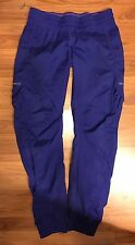 Lululemon•Pigment Blue/Purple •Leader Of The Track•Pants• Lightweight•Warm Up•8