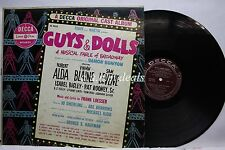 Guys & Dolls - A Musical Fable Of Broadway, LP vinyl (VG)