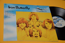 IRON BUTTERFLY LP ITALY PRESS ONLY COVER TOP NM