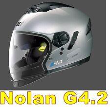 """CASCO NOLAN GREX G4.2 N-COM  EX N43E AIR ARGENTO COL.3 Tg. """" L"""" SILVER"""