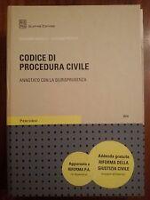 Codice procedura civile annotato con giurisprudenza 2014 Giuffrè Esame avvocato