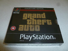 NEW SEALED PAL IMPORT PLAYSTATION GAME GRAND THEFT AUTO COLLECTORS EDITION ERROR