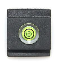 Camera Flashlight Hot Shoe Spirit Level Cover for Canon Nikon Pentax Panasonic