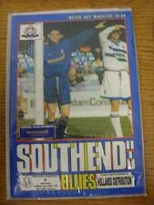 08/04/1996 Southend United v Watford  (Good Condition)
