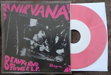 "Nirvana- Beauty And Power RARE colored vinyl 7""  (Hole, Soundgarden, Melvins)"