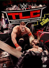 WWE: TLC - Tables, Ladders and Chairs 2014 (DVD, 2015)