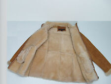GUIDE GEAR 100% GENUINE LAMB SHEARLING JACKET CHESTNUT TAN SIZE WOMEN'S  L
