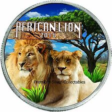 2015 Burundi Lion - First Coin in Series - Silver 1 Ounce Pure .999 !!!