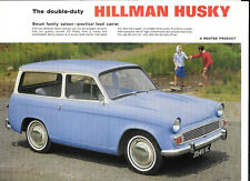 ROOTES HILLMAN HUSKY 'SALES BROCHURE'/SHEET  MID 60's