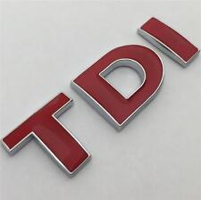 TDI Badge Emblem NEW For VW GOLF POLO LUPO PASSAT EOS TRANSPORTER MK4 MK5 MK6