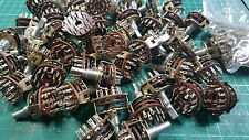 10 X ALPHA ROTARY SWITCH 3 POLE  4 POSITION ROTARY SWITCH , 6mm x 11mm