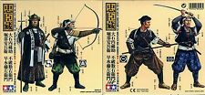 Tamiya 1/35 89556 Japanese Samurai (1) (4 Figures, Historical Miniatures Series)