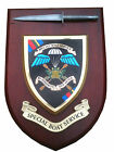 SBS Special Boat Service Old Style with Pewter Model Military Wall Plaque
