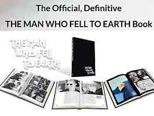 The Man Who Fell To Earth Book David Bowie 40th Anniversary Ltd Edt To 1,000,